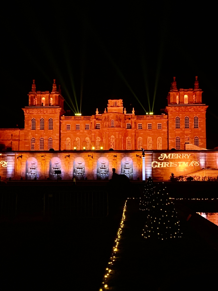 Blenheim Palace Illuminated Christmas Lights Trail – CocoChlo blog